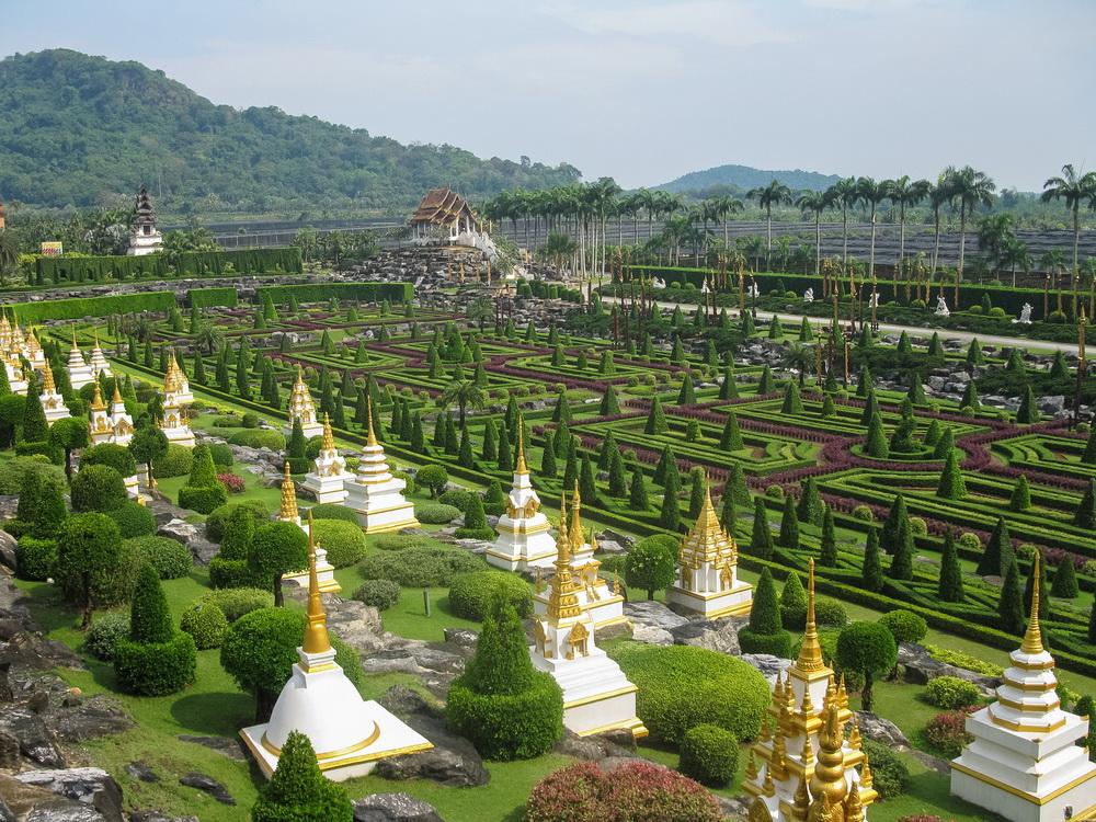 Ландшафтный парк Нонг Нуч в Тайланде. Краткий отчет о поездке.